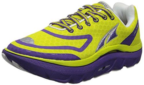 Altra Women's Paradigm Max Cushion Running Shoe,Sulphur/Purple,5.5 M US