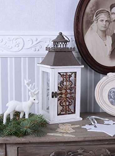 Vintage Garten Laterne Landhaus Stil Shabby CHIC Palazzo Exclusiv