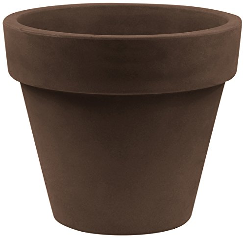 Vondom Pots Maceta, Bronce, 29.8x29.8x25.8 cm