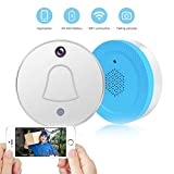 Smart Wireless Doorbell with WiFi Camera - Automatically Takes Picture When Visitor Rings the Doorbell, You Get the Push of Visitor's Photo on APP of Smartphone/VICTORSTAR