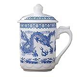 Fengshop Tazas para niños Taza, Taza de café de cerámica, Taza de té Grande para Oficina y Taza de café para el hogar, Conveniente para lavavajillas y microondas Tazas de café Taza (Color : B)