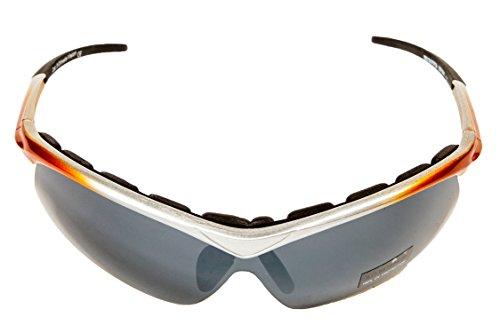Gafas BIEFFE aptos para ciclismo y otros deportes gris naranja