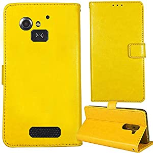 Lankashi Stand Premium Retro Business Flip Leather Case Protector Bumper For Doro 5516/5517 2.4