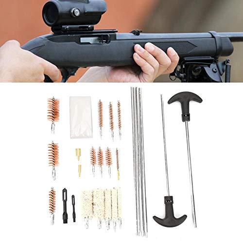 Kit de herramientas de limpieza de pistola universal Rifle Pistola Pistola Escopeta Herramienta de limpieza de armas de fuego (103 piezas)
