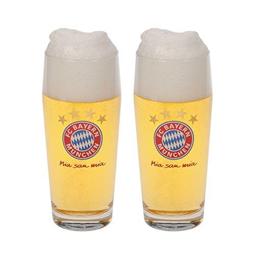 FC Bayern München Halbeglas 2er Set