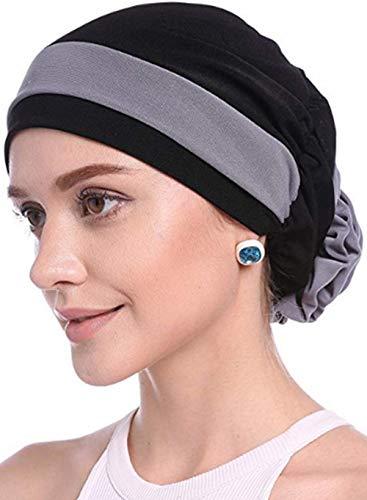 WETOO Damen Blume Muslim Turban Chemo Krebs Cap Kopftuch Kopfbedeckung…