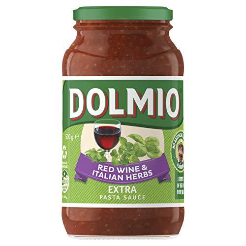 DOLMIO Extra Red Wine Italian Herb, 500 g
