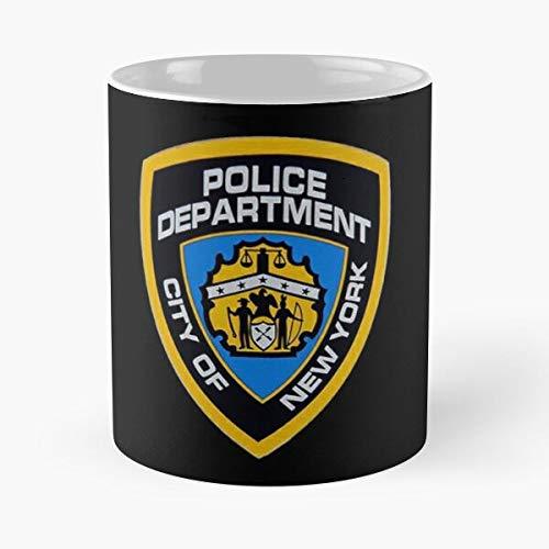 New Nine Police York Brooklyn NYPD 99 Detective Mejor Taza de café de