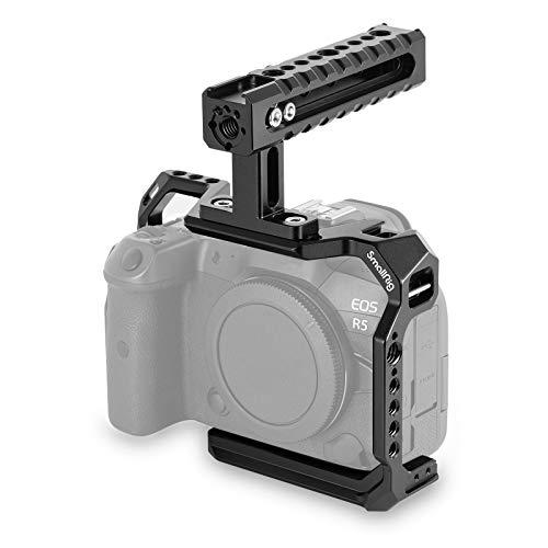 SmallRig Canon EOS R5/R6用ケージ トップハンドル付き-3185