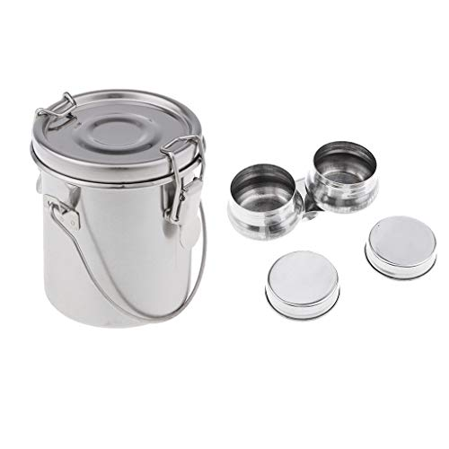 IPOTCH Paint Brush Washer Palette Cup Paleta para Contener Solventes y Aceites Durante Pintura, Conveniente para Llevar