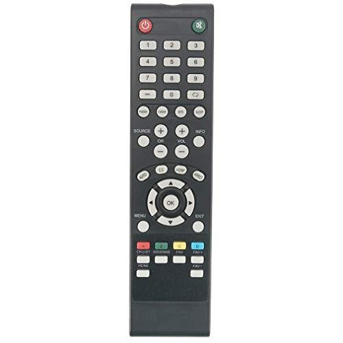VINABTY Fernbedienung Ersetzen für SEIKI TV SE50RT07UK SE43FO02UK SE43FO02UK SE50FO04UK SE48FO01UK SE43FO01UK