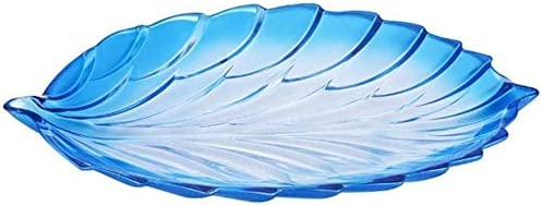 Hoja de cristal en forma de cristal placa de fruta creativa melón semillas de caramelo placa de fruta secada placa de fruta placa de fruta mesa de comedor bocado placa de fruta sala de estar mesa de c