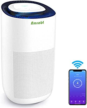 Amrobt H13 True HEPA 4 Stage Filtration WiFi App Controlled Air Cleaner