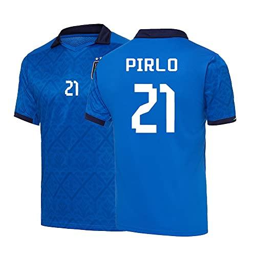 XH Hombres Fútboles Jersey Polo Camisa Atlética tee Funda Corta Gimnasio, Jersey Adult S-XXL (Color : H, Size : Adult-XX-Large)