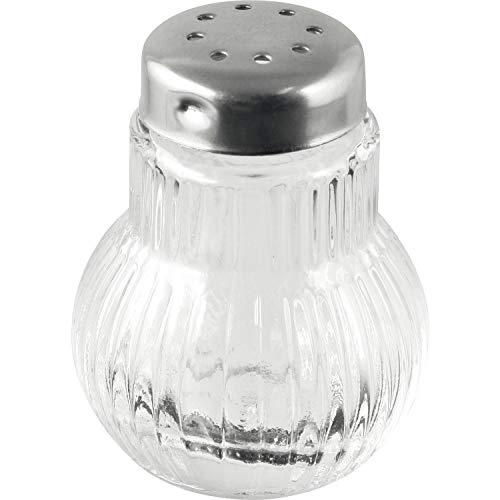 FACKELMANN »Mini« Pfeffer-/Salzstreuer Glas mit Edelstahl-Kappe