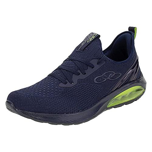 Tenis Masculino Olympikus Cristal Air Esportivo Cor:Azul;Tamanho:41;Gênero:Masculino