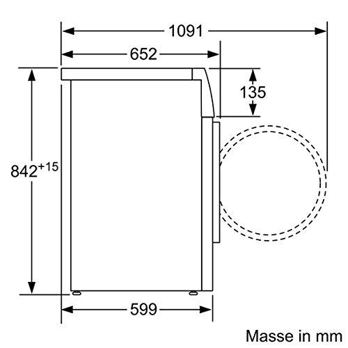 Siemens iQ700 WT44W5W0 iSensoric Premium Wärmepumpentrockner / A+++ / 8 kg / Großes Display mit Endezeitvorwahl / Selbstreinigungs-Automatik / weiß - 5