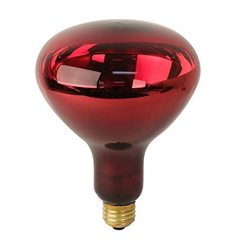 Feit Electric 250R40/10 250-Watt R40 InfraRed Heat Lamp Flood Incandescent BR40 Light Bulb