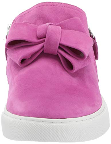 Gentle Souls by Kenneth Cole Women's Lowe Ribbon Double Zip Sneaker, Magenta, 11 M US