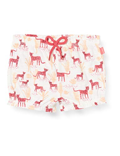 Noppies G Diaper Short Cranston AOP Pantalones Cortos, Multicolor (Rouge Red P160), 74 para Bebés