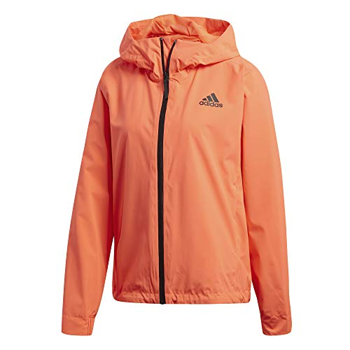 adidas Damen W BSC 3S R.RDY Sport Jacket, app solar red, S