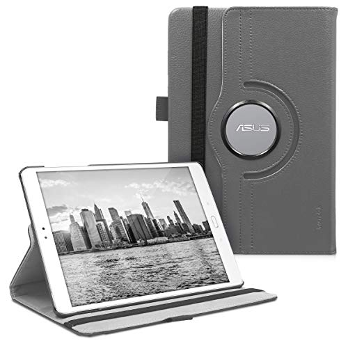 kwmobile Asus ZenPad 3S 10 (Z500M) Hülle - 360° Tablet Schutzhülle Cover Case für Asus ZenPad 3S 10 (Z500M) - Anthrazit
