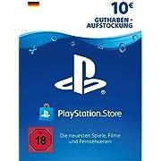 PSN Guthaben-Aufstockung   10 EUR   deutsches Konto   PS5/PS4/PS3 Download Code