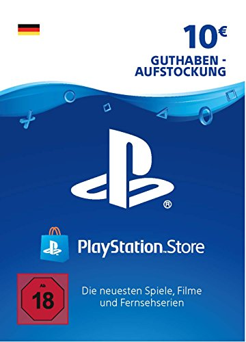 PSN Card-Aufstockung | 10 EUR | deutsches Konto | PSN Download Code