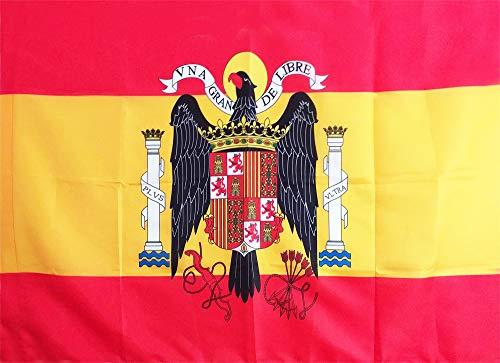 LPG   Bandera de ESPAÑA Escudo Aguila DE San Juan