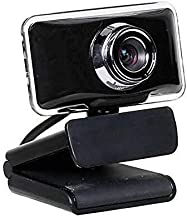 Yuxahiugstx Network HD USB Computer Webcam, Driver-Free with Laptop Microphone TV Universal Video Call Webcam, Dedicated f...