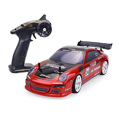 Aoile ZD Racing 45km/H 1:16 Scale 2.4GHz 4WD 30A Brushless Rocket S16 Tourning Car RTR Red U.S. Plug