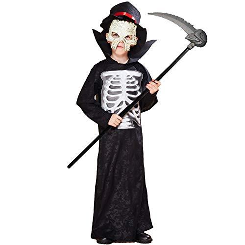 EraSpooky Disfraz de Segador Disfraces Cosplay Divertido Traje de Fiesta de Halloween