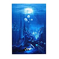海中マーメイドクラゲフィッシュブルー 木製パズル300ピース楽しいパズル減圧パズル300ピースバースデーギフトホリデーギフト