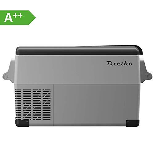 Dreiha CBX35 Kühlbox, elektrische tragbare Kompressor Kühlbox/Gefrierbox 12V/24V und 230V für Auto, LKW, Boot, Camping, Wohnmobil und Steckdose, Kühlung von -20 °C bis +20°C