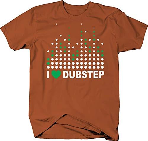 AOT-T I Love Dubstep with Sound Guy DJ Sound Board Lights T-Shirt