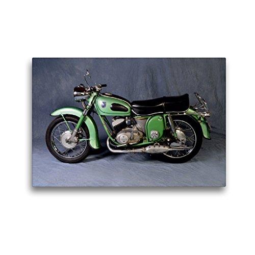 CALVENDO Premium Textil-Leinwand 45 x 30 cm Quer-Format Adler Sprinter MB 250 S Baujahr 1957, Leinwanddruck von Ingo Laue