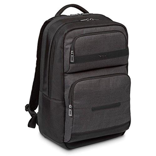 """Targus CitySmart Advanced TSB912EU - Zaino per notebook con capacità 22 L, ideale per pendolari di città e viaggiatori d'affari, adatto per notebook con schermo fino a 15,6"""", colore: nero e grigio"""