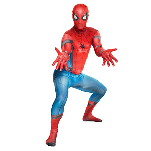 Morphsuits Disfraz de mlsphx 176 – 185 cm oficial Spiderman Homecoming...