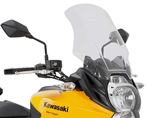 Motorrad Windschutzscheibe Kawasaki Versys 650 10-14 Givi Spoiler transparent