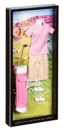 Barbie Collector Le Look Collection : Rose sur Le Vert Mode Lot