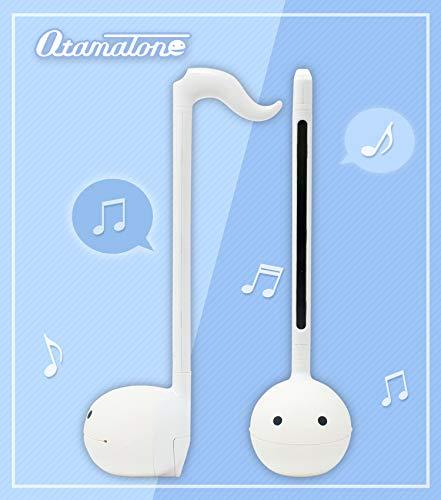 Otamatone [English Edition] Japanese Electronic Musical Instrument Synthesizer by Cube / Maywa Denki, White