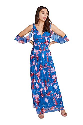 Little Mistress Maxikleid Mattie Floralprint Gr. 40, multi