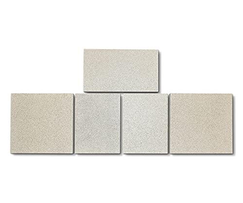 Feuerraumauskleidung für Jydepejsen Euro 1 Kaminöfen - Vermiculite - 5-teilig
