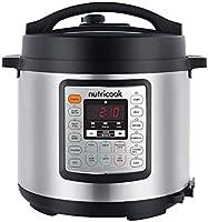 Nutricook Smart Pot Eko by Nutribullet 1000 Watts - 9 in 1 Instant Programmable Electric Pressure Cooker, 6 Liters, 14...