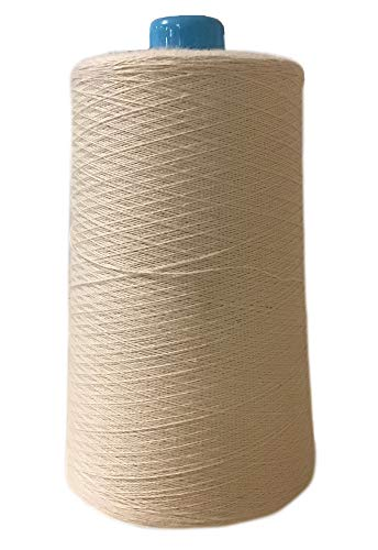 Amazing Deal Multipurpose Organic Cotton Sewing Thread - Natural - 12,000 Yard Cone