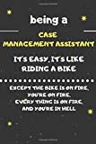 CASE MANAGEMENT ASSISITANT : DAILY WEEKLY MONTHLY NOTEBOOK,JOURNAL PLANNER 2020