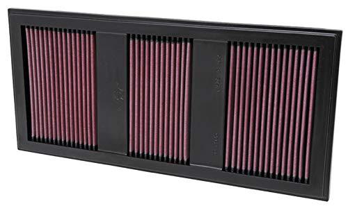 K&N Engine Air Filter: High Performance, Premium, Washable, Replacement Filter: 2011-2017 Mercedes V6 3.5L (S400 Hybrid, E350, SLK, C350, E400, GLK350, ML350, E 400 and other select models), 33-2985