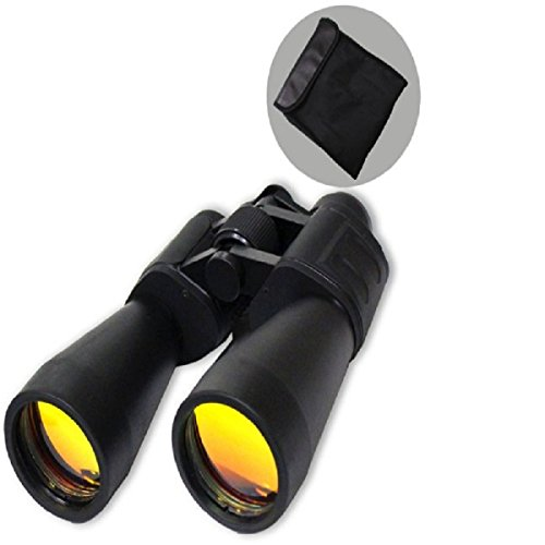 Binoculars 10x60 by UPD Survival: High Power Ruby Lenses with Superb Focus and Stabilization for Long Range Clear Vision - Ideal for Astronomy Stargazing Outdoor Camping Hiking Game Watching