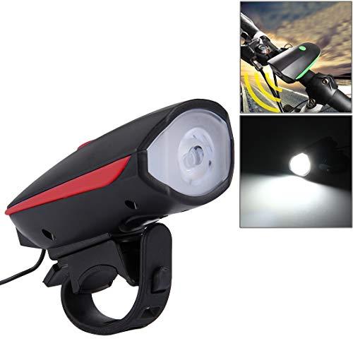 No Brand Fietsstoelonderdelen voor fietsen, achterlicht, voor gebruik, 2 stuks, lamp met batterijbanden, voor auto/motor/fiets (lichtblauw)