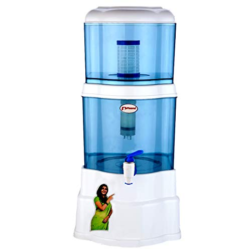 P-zone Aquagem Non Electric Gravity Based UF Water Filter 15 Litre